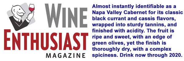 Napa Valley Cattle Company Wine Enthusiast Rating