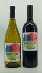 Community Chardonnay and Cabernet pair