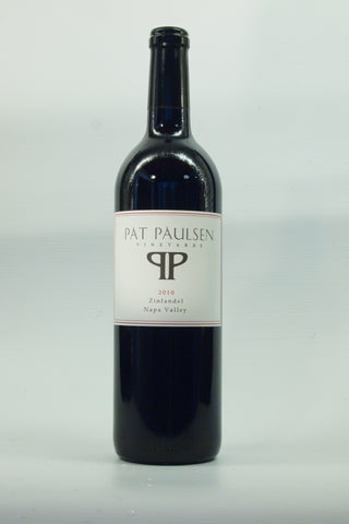 Pat Paulsen Vineyards Napa Valley Zinfandel 2010