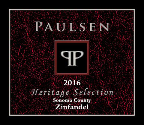 Sonoma Zinfandel 2016 - coming soon