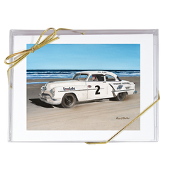 """Bill Blair's 1953 Daytona Beach Win."" Note Cards"