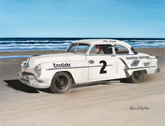 """Bill Blair's 1953 Daytona Beach Win."""