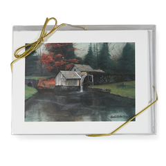 """Autumn at Mabry's Mill"" Note Cards"
