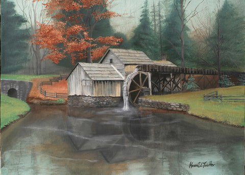 """Autumn at Mabry's Mill"""