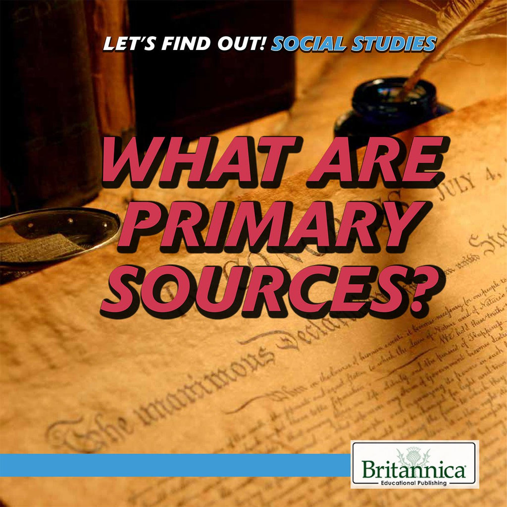 Let's Find Out! Social Studies Skills Series (NEW!)