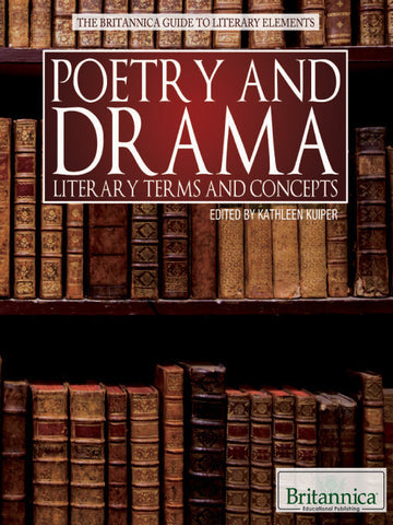 Poetry and Drama: Literary Terms and Concepts