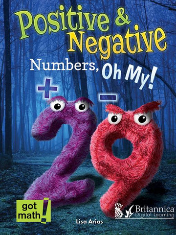 Positive and Negative Numbers, Oh My!: Number Lines