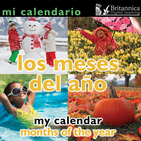 Mi calendario: Los meses del año (My Calendar: Months of the Year)