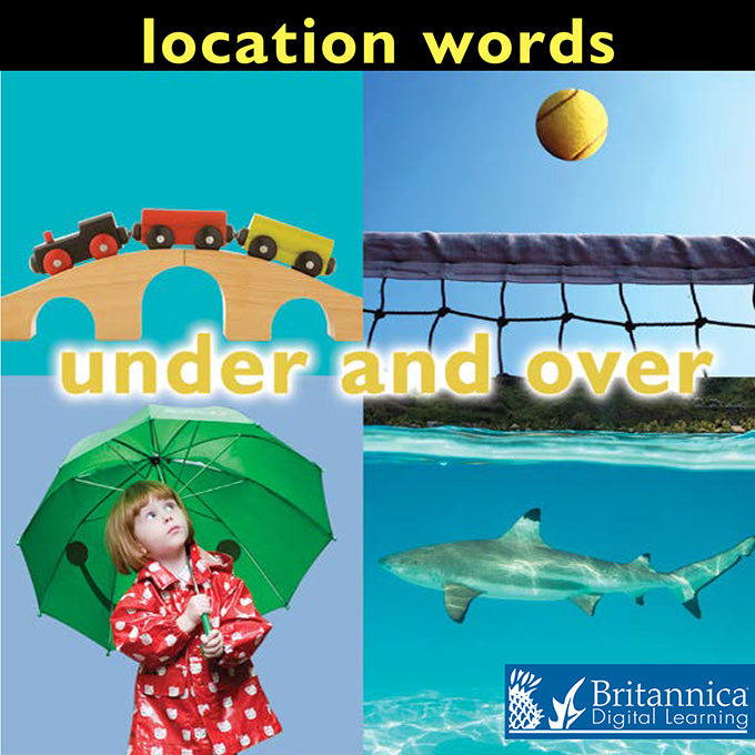 Location Words: Under and Over