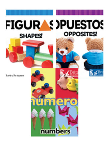 Libros infantiles sobre números y matemáticas/Counting and Math Board Books Series