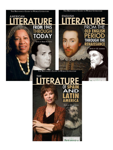 The Britannica Guide to World Literature Series