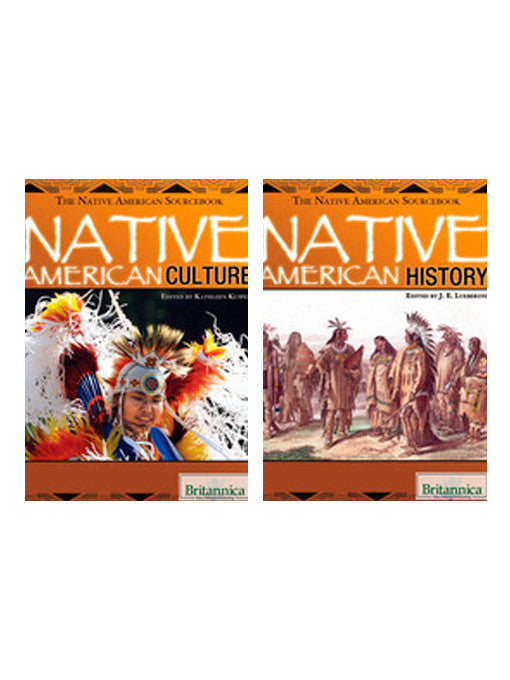 The Native American Sourcebook: Land, People, & Culture Series