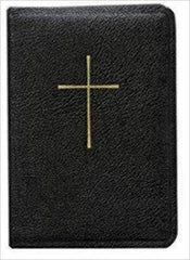 Book of Common Prayer/Hymnal Combination Black