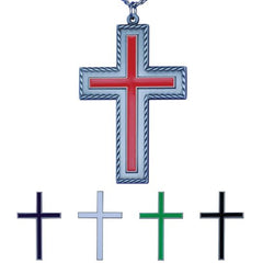 "3 5/8"" Interchangeable Liturgical Pectoral Cross"