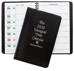 2020 Episcopal Liturgical Desk Calendar
