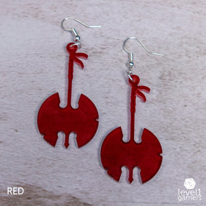 Barbarian Axe Acrylic Earrings