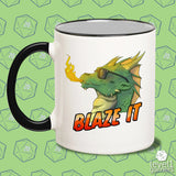 Blaze It (Dragon) Mug