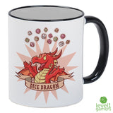 Dice Dragon Mug