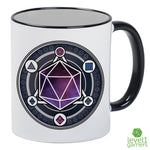 Dice Summoning Circle Mug