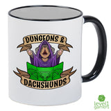 Dungeons And Dachshunds Mug