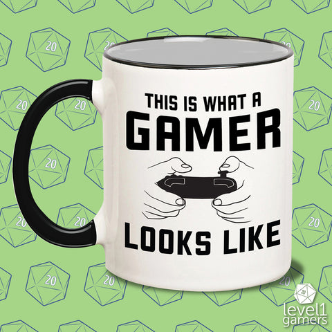 This Is What A Gamer Looks Like Mug