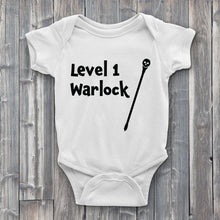 Load image into Gallery viewer, Level 1 warlock Baby Bodysuit