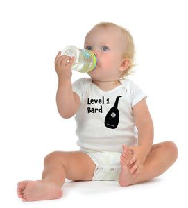 Level 1 bard Baby Bodysuit