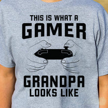 Load image into Gallery viewer, Grandpa Gamer T-shirt