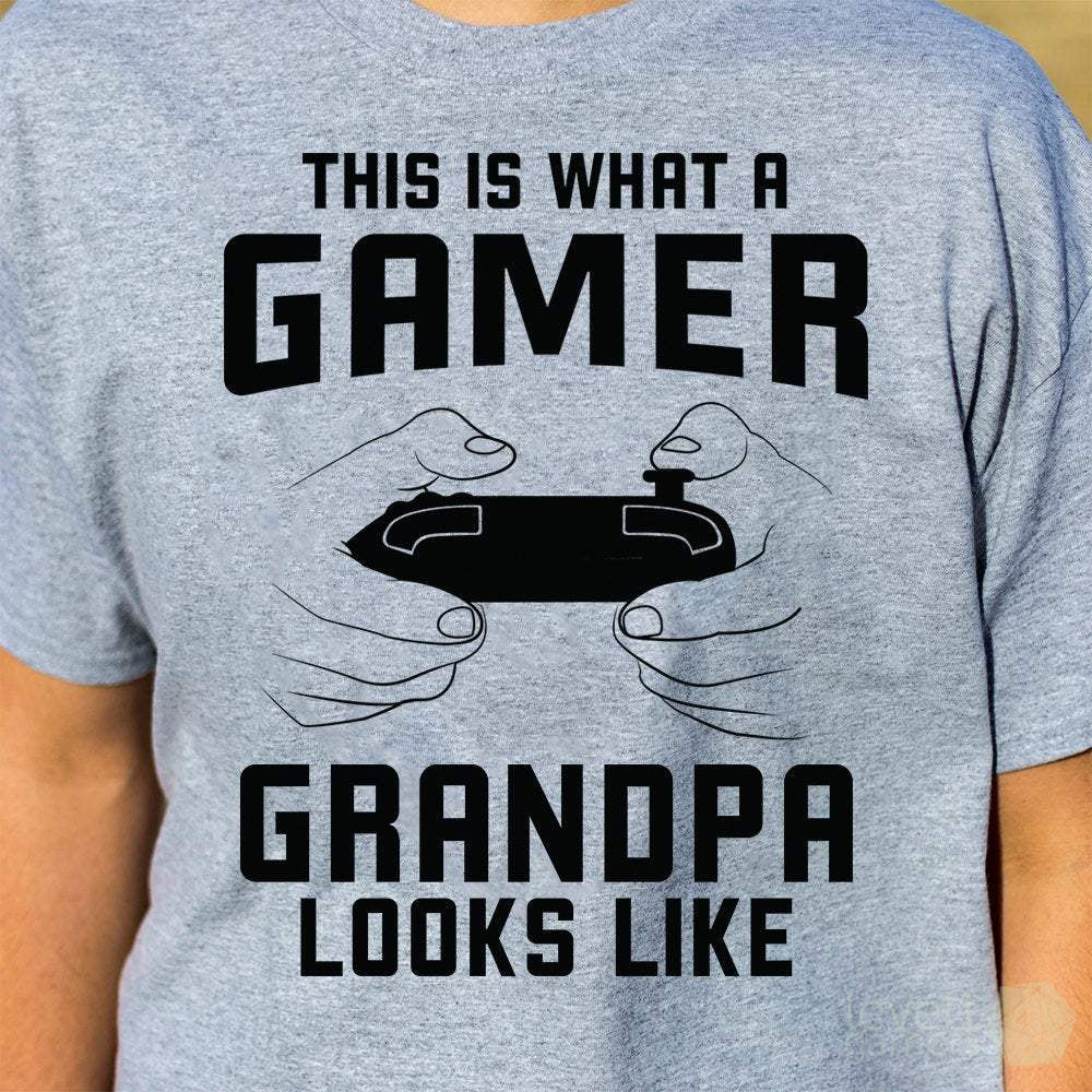 Grandpa Gamer T-shirt
