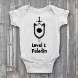 Level 1 paladin Baby Bodysuit