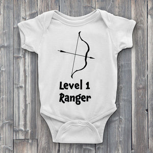 Level 1 Ranger Baby Bodysuit