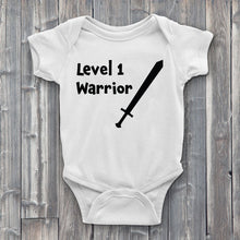 Load image into Gallery viewer, Level 1 Warrior Baby Bodysuit