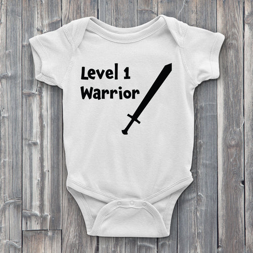 Level 1 Warrior Baby Bodysuit