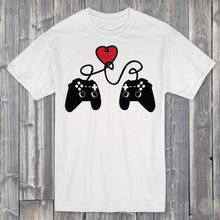 Load image into Gallery viewer, Gamer Valentine's T-Shirt