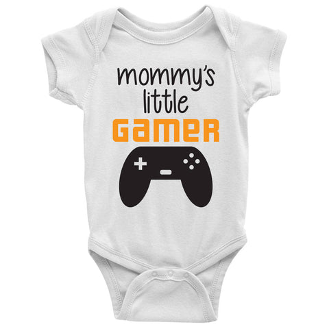 Mommy's Little Gamer Baby Bodysuit