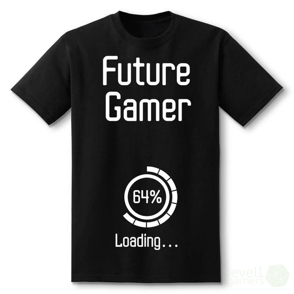 Future Gamer Loading Pregnancy Announcement T-Shirt
