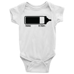 Mana baby bottle Baby Bodysuit