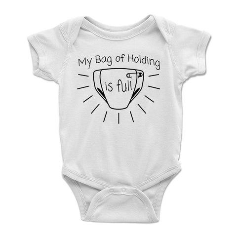 My Bag of Holding is Full Baby Bodysuit