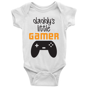 Daddy's little gamer Baby Bodysuit