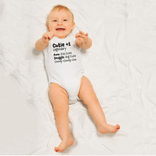 Load image into Gallery viewer, Cutie +1 Legendary Baby Bodysuit