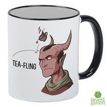 Load image into Gallery viewer, Tea-Fling (Male) Mug-Level 1 Gamers