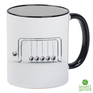 Newton's Dice Cradle Mug