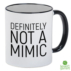 Defiitely Not a Mimic, Double Sided Mug