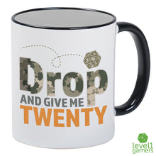 Load image into Gallery viewer, Drop And Give Me 20 Mug