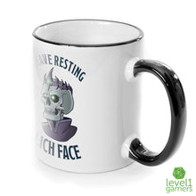 Load image into Gallery viewer, Resting Lich Face Mug