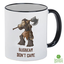 Load image into Gallery viewer, Bugbear Don't Care Mug