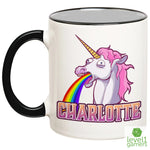 Personalized Unicorn Mug