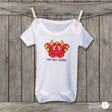 Tiny But Fierce Dragon Baby Bodysuit