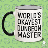 World's Okayest Dungeon Master Mug