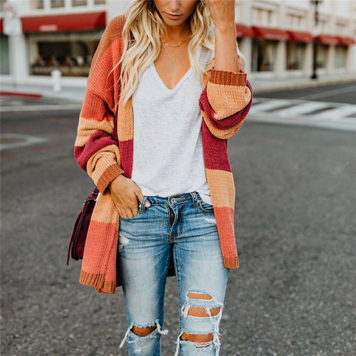 Maternity Long Sleeve Cardigan Sweater